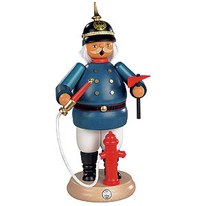 Smokers Professions Smoker - Fireman Historical - 25 cm / 10 inch