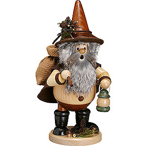 Smokers Hobbies Smoker Forest Gnome Hiker, natural - 25cm / 10inch