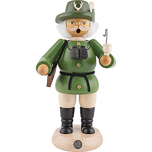 Smokers Professions Smoker - Forest Ranger - Green - 23 cm / 9 inch