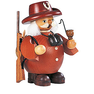 Smokers Professions Smoker Forest Ranger - brown - 14 cm / 6 inch