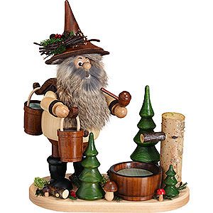 Smokers Hobbies Smoker - Gnome Water Carrier - 26 cm / 10.2 inch