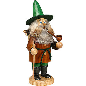 Smokers Hobbies Smoker - Gnome Wood Gatherer, Brown - 22 cm / 9 inch