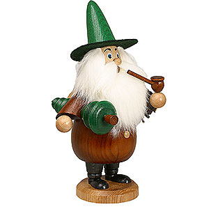 Smokers Misc. Smokers Smoker - Gnome with Tree Brown - 19 cm / 7 inch