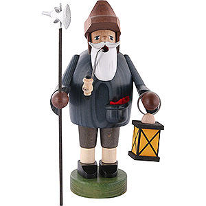 Smokers Professions Smoker Nightwatchman with Lantern - 18 cm / 7 inch