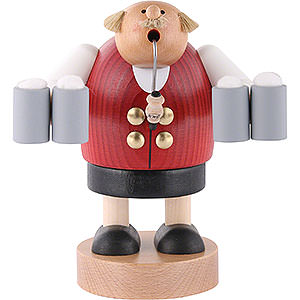 Smokers Professions Smoker - Octoberfest Waiter - 18 cm / 7 inch