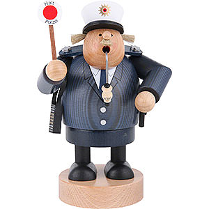 Smokers Professions Smoker Policeman - 20 cm / 8 inch