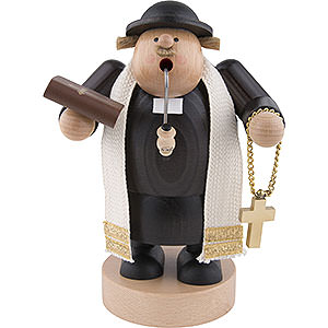 Smokers Professions Smoker Preacher with bibel - 19 cm / 7 inch