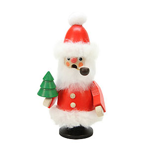 Smokers Santa Claus Smoker Santa Claus red - 12,0 cm / 5 inch