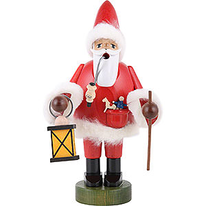 Smokers Santa Claus Smoker Santa Claus with Lantern -  21 cm - 8 inch