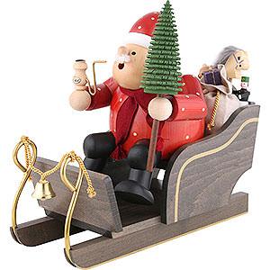 Smokers Santa Claus Smoker - Santa Claus with Sleigh - 30 cm / 12 inch