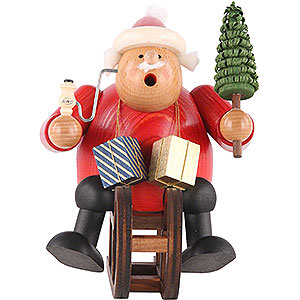 Smokers Santa Claus Smoker Santa Claus with sleigh - 18 cm / 7 inch