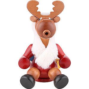 Smokers Misc. Smokers Smoker Santa moose - 24 cm / 9 inch