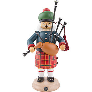 Smokers Hobbies Smoker - Scotsman with Bagpipe - 27 cm / 11 inch
