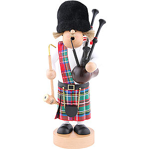 Smokers Hobbies Smoker Scotsman with bagpipe - 29 cm