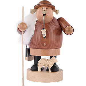 Smokers Professions Smoker - Shepherd with Staff - 18 cm / 7 inch