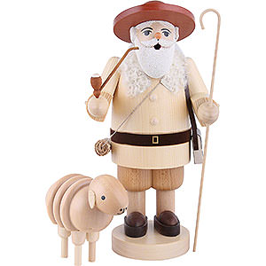 Smokers Professions Smoker Shepherd with sheep - 34cm / 13.4inch