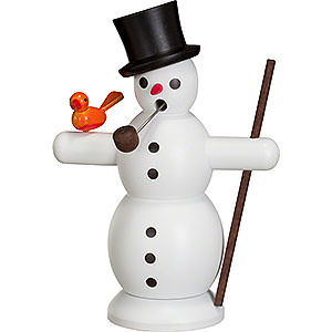 Smokers Snowmen Smoker Snowman - 16 cm / 6 inch