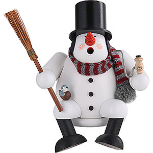 Smokers Snowmen Smoker Snowman - 17 cm / 7 inches