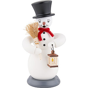 Smokers Snowmen Smoker Snowman - colored - 23 cm / 9 inch