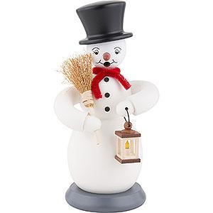 Smokers Snowmen Smoker Snowman - colorful - 23 cm / 9 inch