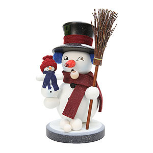 Smokers Snowmen Smoker - Snowy - 22,5 cm / 9 inch