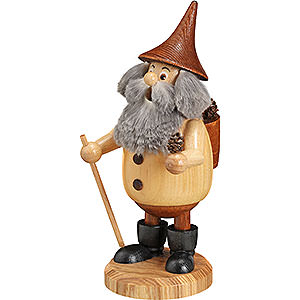 Smokers Misc. Smokers Smoker - Timber-Gnome Coneman Natural Colors - Hat Brown - 15 cm / 6 inch