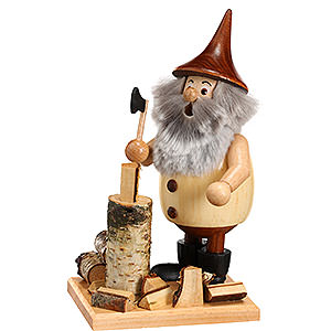Smokers All Smokers Smoker - Timber-Gnome Lumberjack on a Board - 15 cm / 6 inch