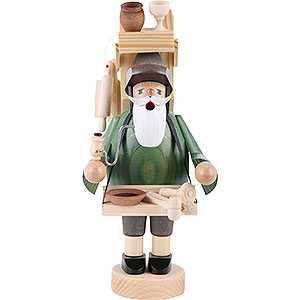 Smokers Professions Smoker Woodwork peddler - 23 cm / 9 inch