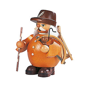Smokers Professions Smoker Woodworker - brown  - 14 cm / 6 inch