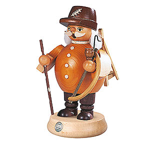 Smokers Professions Smoker Woodworker - brown  - 18 cm / 7 inch