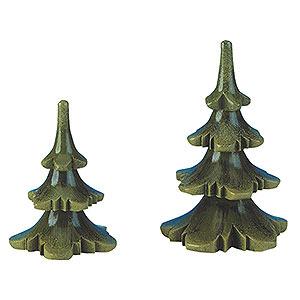 Kleine Figuren & Miniaturen Hubrig Blumenkinder Sommerbaum 2er Set - 6 & 8cm