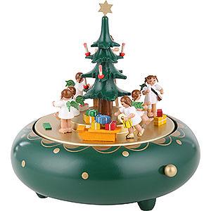 Spieldosen Weihnachten Spieldose Engelheimlichkeit - 18cm