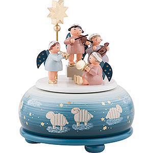 Spieldosen Weihnachten Spieldose Himmelskonzert - 16 cm