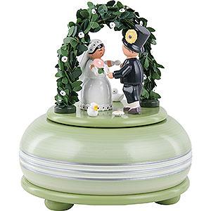 Spieldosen Diverse Motive Spieldose Hochzeitsfest - 15cm