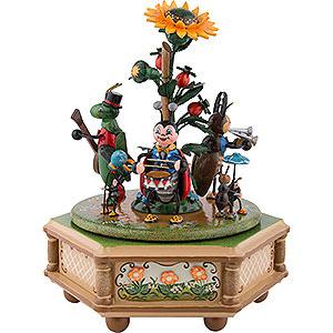 Spieldosen Jahreszeiten Spieldose Käfertal - 20cm