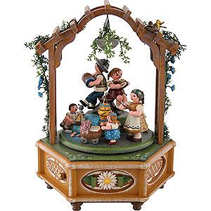 Spieldosen Jahreszeiten Spieldose Katrinchens Kinderzeit - 23cm