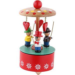 Spieldosen Diverse Motive Spieldose Liebesherzen
