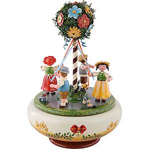 Spieldosen Jahreszeiten Spieldose Maientanz - 26 cm
