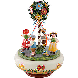 Spieldosen Jahreszeiten Spieldose Maientanz - 26cm