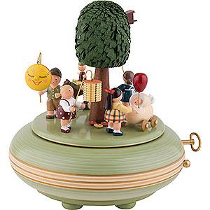 Spieldosen Diverse Motive Spieldose Spieldose Lampionfest - 18 cm