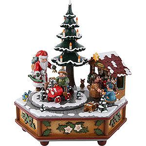 Spieldosen Weihnachten Spieldose Weihnachtszeit - 22 cm