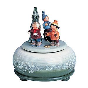 Spieldosen Jahreszeiten Spieldose Winterfreuden - 14 cm