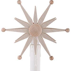 Schwibbögen Schwibbogen Zubehör Stern zum Aufstecken für Elektro-Schwibbögen - 10cm