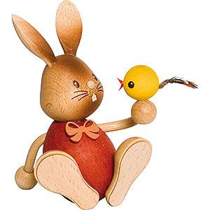 Kleine Figuren & Miniaturen Osterartikel Stupsi Hase mit Küken - 12 cm