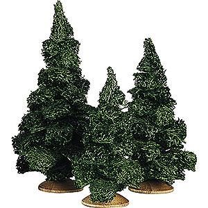 Weihnachtsengel Günter Reichel Dekoration Tanne ohne Stamm Sortiert, 3 Stück - 13cm