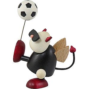 Kleine Figuren & Miniaturen Gustav (Hobler) Teufelchen Gustav mit Fu�ball - 7cm