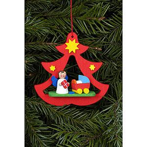 Tree ornaments Angel Ornaments Misc. Angels Tree Ornament - Mini-Angel Im Tree - 7,2x7,1 cm / 3x3 inch