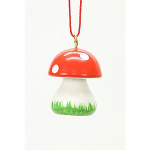 Tree ornaments Misc. Tree Ornaments Tree Ornament - Mushroom  - 1,8x2,4 cm / 1x1 inch