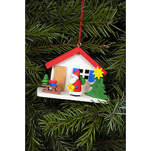 Tree ornaments Santa Claus Tree Ornament - Santa Claus - 7,0x5,0 cm / 3x2 inch