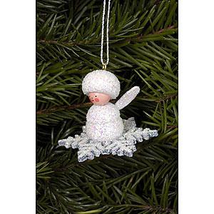 Tree ornaments Winterly Tree Ornament - Snowflakes - 4,5x3,5 cm / 2x1 inch